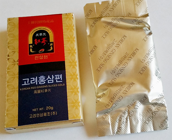 What is Korean red ginseng?