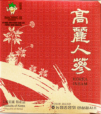 Dried Ginseng Root